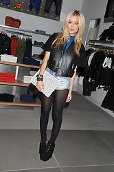 LAURA WHITMORE at an invitation-only acoustic performance by Rita Ora hosted by Calvin Klein Jeans at their Regent Street Store, London on 18th February 2013.