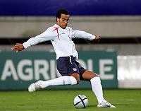 Fotball<br /> Foto: Dppi/Digitalsport<br /> NORWAY ONLY<br /> <br /> FOOTBALL - UNDER 21 UEFA EUROPEAN CHAMPIONSHIP 2004/2006 - 1/8 FINAL - 2ND LEG - FRANCE v ENGLAND - 15/11/2005 <br /> <br /> EM-KVALIFISERING U21 FRANKRIKE v ENGLAND<br /> <br /> TOM HUDDLESTONE (ENG)