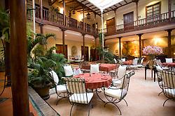 South America; Ecuador; Cuenca; Santa Lucia hotel;  PR