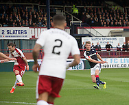 Dundee&rsquo;s Mark O&rsquo;Hara scores the opener - Dundee v Rangers in the Ladbrokes Scottish Premiership at Dens Park, Dundee.Photo: David Young<br /> <br />  - &copy; David Young - www.davidyoungphoto.co.uk - email: davidyoungphoto@gmail.com