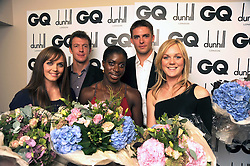 Beijing Olympic 2008 gold medal winners at the GQ Men of the Year Awards held at the Royal Opera House, London on 2nd September 2008.<br /> <br /> NON EXCLUSIVE - WORLD RIGHTS