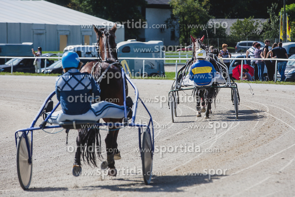 Harness racing competition Kasaski derby 2015 at hippodrome Stozice on 8. September 2015 in , Ljubljana, Slovenia. Photo by Grega Valancic / Sportida
