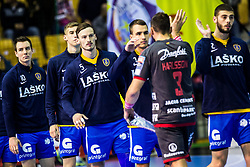 Malus Jaka of RK Celje Pivovarna Lasko during handball match between RK Celje Pivovarna Lasko (SLO) and SG Flensburg Handewitt (GER) in 3rd Round of EHF Men's Champions League 2018/19, on September 30, 2018 in Arena Zlatorog, Celje, Slovenia. Photo by Grega Valancic / Sportida