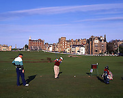 The Old Course and St Andrews, Fife