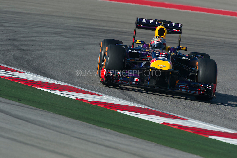 November 15- 17, 2013. Austin, Texas. United States Grand Prix 2013: Sebastian Vettel, Red Bull Racing