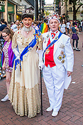 The Party Royal - The annual London Gay Pride march heads from Oxford Circus to Trafalgar Square.