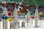 Paola Amilibia Puig - Prunella d' Ariel<br /> Alltech FEI World Equestrian Games™ 2014 - Normandy, France.<br /> © DigiShots