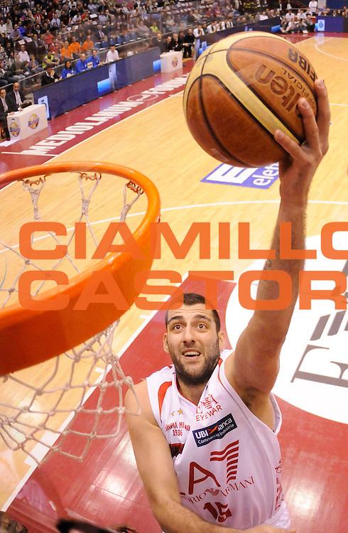 DESCRIZIONE : Milano Lega A 2012-13 Play Off Quarti di Finale Gara1 EA7 Olimpia Armani Milano Montepaschi Siena<br /> GIOCATORE :  Ioannis Bourousis <br /> SQUADRA : EA7 Olimpia Armani Milano <br /> EVENTO : Campionato Lega A 2012-2013 Play Off Quarti di Finale Gara1<br /> GARA :  EA7 Olimpia Armani Milano Montepaschi Siena<br /> DATA : 10/05/2013<br /> CATEGORIA : Tiro Super Special<br /> SPORT : Pallacanestro<br /> AUTORE : Agenzia Ciamillo-Castoria/A.Giberti<br /> Galleria : Lega Basket A 2012-2013<br /> Fotonotizia : Milano Lega A 2012-13 EA7 Olimpia Armani Milano Montepaschi Siena<br /> Predefinita :