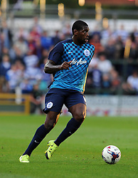 QPR's Jay Emmanuel-Thomas - Photo mandatory by-line: Harry Trump/JMP - Mobile: 07966 386802 - 11/08/15 - SPORT - FOOTBALL - Capital One Cup - First Round - Yeovil Town v QPR - Huish Park, Yeovil, England.