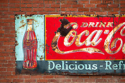 Old sign in Rosalia, Washington.