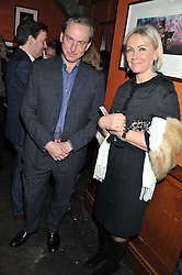 PHILIP MOULD and HEINI AL-FAYED at a party to relaunch PR First London, held at the 606 Club, Lots Road, London SW10 on 16th January 2013.