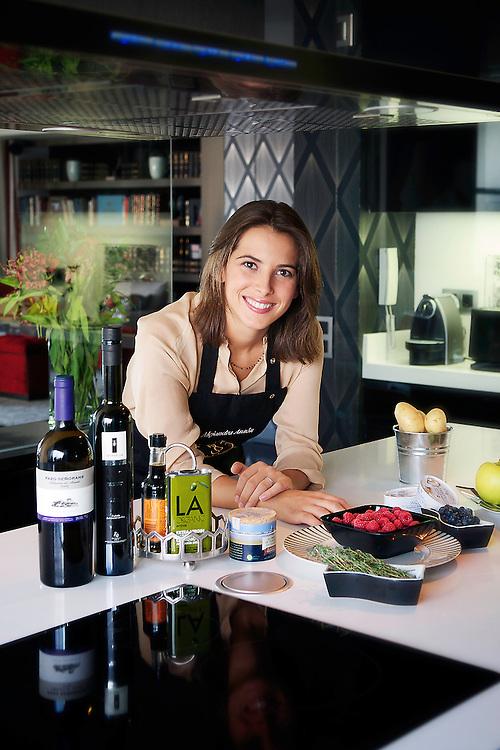 Alejandra Anson, gastronoma.