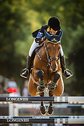 Paris, France : Edwina Tops-Alexander riding California during the Longines Paris Eiffel Jumping 2018, on July 5th to 7th, 2018 at the Champ de Mars in Paris, France - Photo Christophe Bricot / ProSportsImages / DPPI