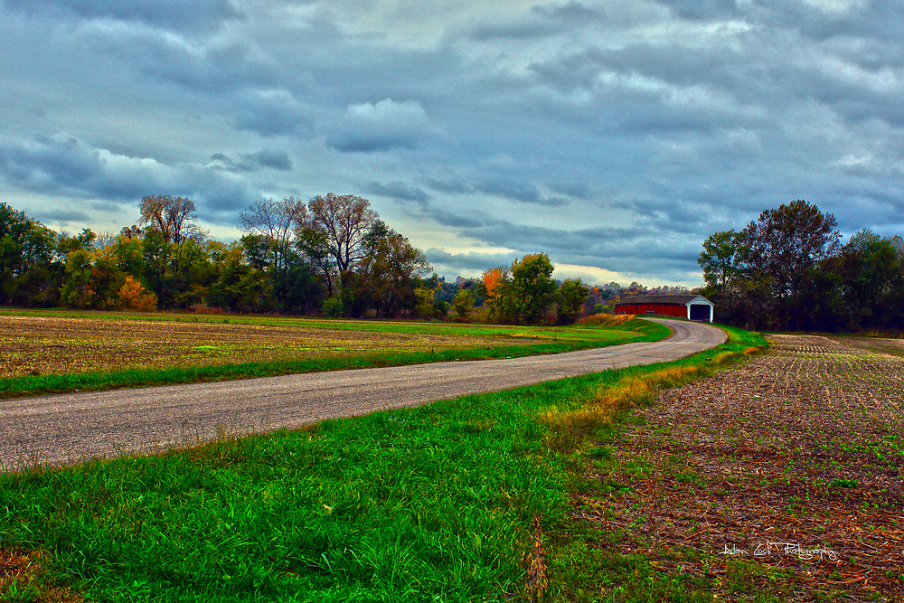 24 October 2017:   Parke County Indiana is the site of the Indiana Covered Bridge Festival every October