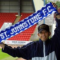 St Johnstone FC July 2001