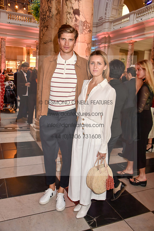 """Toby Huntington-Whiteley and Cecily Brown at the opening of """"Frida Kahlo: Making Her Self Up"""" Exhibition at the V&A Museum, London England. 13 June 2018."""