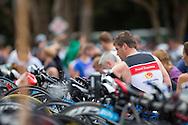 Age Group Competitor. Noosa Triathlon. 2012 Noosa Triathlon Festival. Noosa, Queensland, Australia. 04/11/2012. Photo By Lucas Wroe