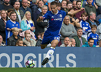 Football - 2016/2017 Premier League - Chelsea V Leicester.<br /> <br /> Cesar Azpilicueta of Chelsea at Stamford Bridge.<br /> <br /> COLORSPORT/DANIEL BEARHAM