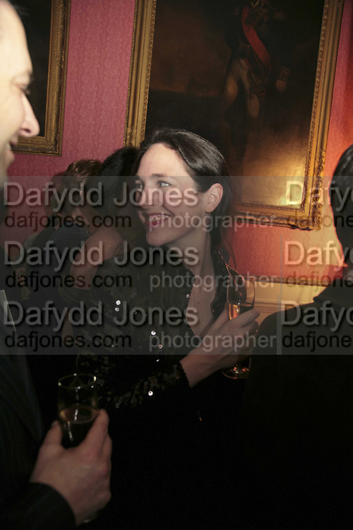 CHARLOTTE SKENE-CATLING , Literary Review's Bad Sex In Fiction Prize.  In &amp; Out Club (The Naval &amp; Military Club), 4 St James's Square, London, SW1, 29 November 2006. <br />