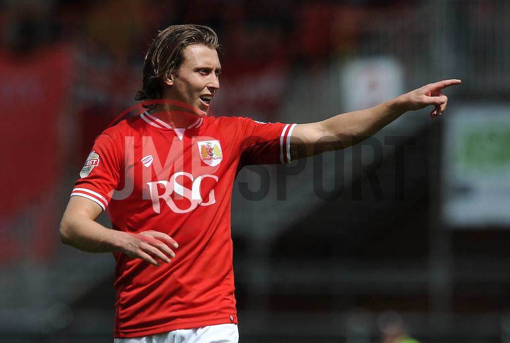 Bristol City's Luke Freeman - Photo mandatory by-line: Dougie Allward/JMP - Mobile: 07966 386802 - 03/05/2015 - SPORT - Football - Bristol - Ashton Gate - Bristol City v Walsall - Sky Bet League One