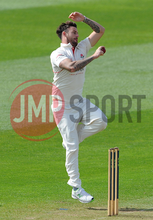 Lancashire's Jordan Clark - Photo mandatory by-line: Harry Trump/JMP - Mobile: 07966 386802 - 07/04/15 - SPORT - CRICKET - Pre Season - Somerset v Lancashire - Day 1 - The County Ground, Taunton, England.