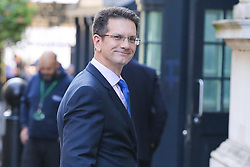 © Licensed to London News Pictures. 22/10/2019. London, UK. Member of European Research Group (ERG) STEVE BAKER  is seen in Downing Street after meeting the Prime Minister BORIS JOHNSON. Photo credit: Dinendra Haria/LNP