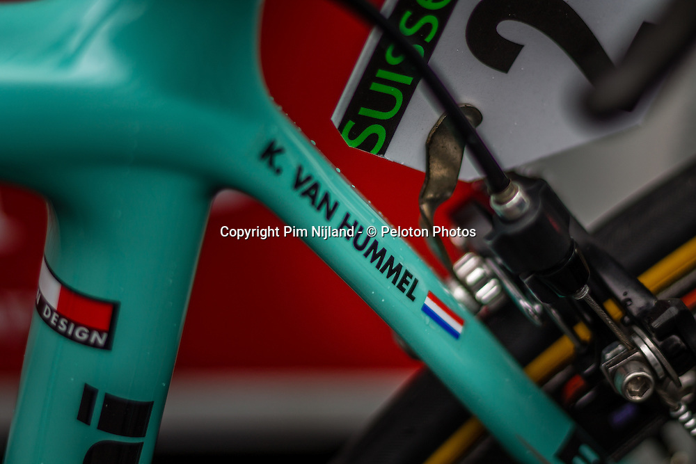 Androni Giocattoli: Sempre Pro Bianchi bike - Milan - San Remo - 23 March 2014 - Photo by Pim Nijland / Peloton Photos