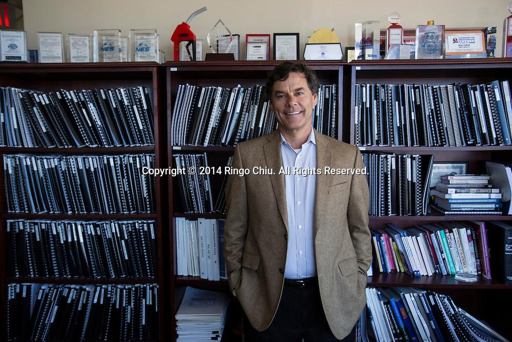 Kevin Burke, founder of Trinity Capital. (Photo by Ringo Chiu/PHOTOFORMULA.com)
