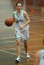 20-04-2005 BASKETBAL: LEVI - PERIK JUMPERS: AMSTERDAM<br /> Levi Amsterdam, wint de eerste playoff wedstrijd met 85-65 / Sally Kaznica<br /> ©2005-WWW.FOTOHOOGENDOORN.NL