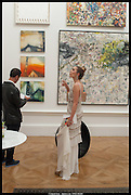 ROBERT TATEOSSIAN; AMBER LEBON, Royal Academy of Arts Summer Exhibition 2014. Piccadilly. London. 4 June 2014.