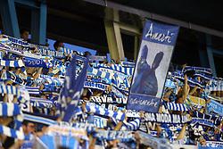 """Foto Filippo Rubin<br /> 18/05/2017 Ferrara (Italia)<br /> Sport Calcio<br /> Spal vs Bari - Campionato di calcio Serie B ConTe.it 2016/2017 - Stadio """"Paolo Mazza""""<br /> Nella foto: tifosi della Spal<br /> <br /> Photo Filippo Rubin<br /> May 18, 2016 Ferrara (Italy)<br /> Sport Soccer<br /> Spal vs Bari - Italian Football Championship League B ConTe.it 2016/2017 - """"Paolo Mazza"""" Stadium <br /> In the pic: spal's fans"""