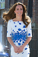 Duchess Kate and Prince William visit Youthscape