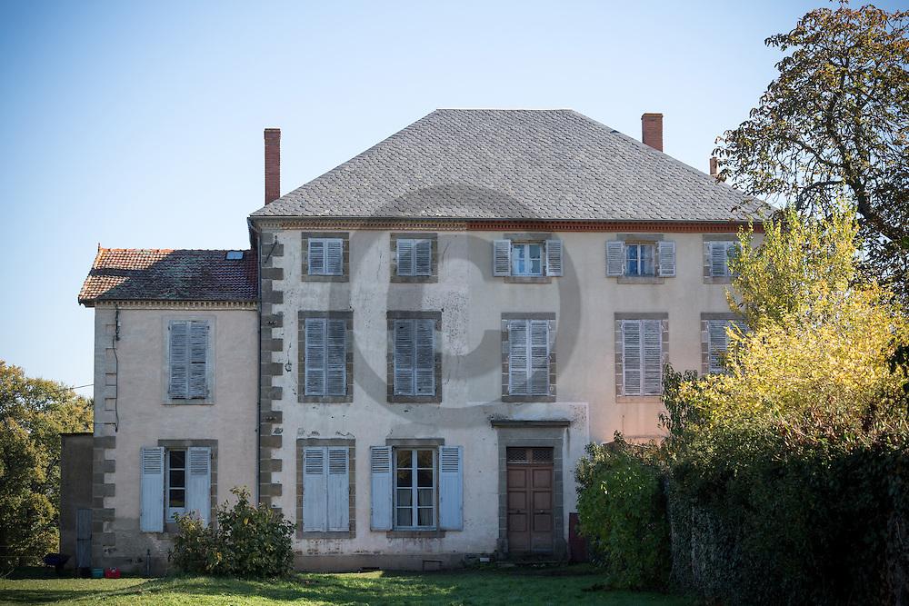 1/11/16 - PLAINE DE BOULADE - PUY DE DOME - FRANCE - Domaine de Boulade dans les environs d Issoire - Photo Jerome CHABANNE