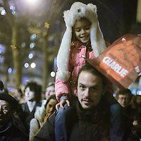 Charlie Hebdo, manifestazione naz.le contro gli attentati. Parigi 11.1.2015