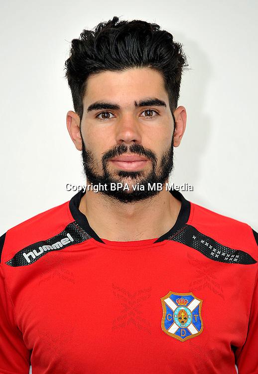 Spain - La Liga Adelante 2014-2015 / <br /> ( Club Deportivo Tenerife ) - <br /> Roberto Gutierrez Diaz