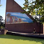 1e Gebouwde kerk van Almere, de goede reden kerk Kerkgracht 60