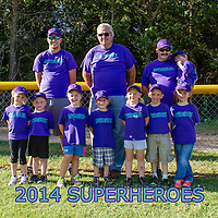 Super Heroes T-Ball 2014