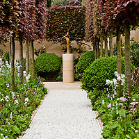 LONDON, UK - 21 May 2012: the Laurent Perrier Garden at the RHS Chelsea Flower Show 2012.