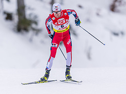 02.02.2020, Seefeld, AUT, FIS Weltcup Nordische Kombination, Langlauf, Gundersen 15 Km, im Bild Espen Bjoernstad (NOR) // Espen Bjoernstad of Norway during the Gundersen 15 Km Cross Country Competition of FIS Nordic Combined World Cup at the Seefeld, Austria on 2020/02/02. EXPA Pictures © 2020, PhotoCredit: EXPA/ Stefan Adelsberger