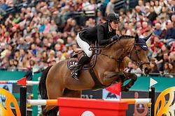 CARTON-GROOTJANS Ann (BEL), Kai Licha de Carmel<br /> Leipzig - Partner Pferd 2020<br /> Longines FEI Jumping World Cup™ presented by Sparkasse<br /> Sparkassen Cup - Großer Preis von Leipzig FEI Jumping World Cup™ Wertungsprüfung <br /> Springprüfung mit Stechen, international<br /> Höhe: 1.55 m<br /> 19. Januar 2020<br /> © www.sportfotos-lafrentz.de/Stefan Lafrentz