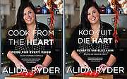 Cover portraits taken of Alida Ryder for her brand new cook books titled 'Cooking from the Heart' 'Kook uit die Hart' published by Penguin.
