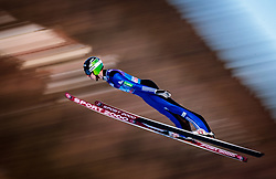 31.12.2017, Olympiaschanze, Garmisch Partenkirchen, GER, FIS Weltcup Ski Sprung, Vierschanzentournee, Garmisch Partenkirchen, Qualifikation, im Bild Ziga Jelar (SLO) // Ziga Jelar of Slovenia during his Qualification Jump for the Four Hills Tournament of FIS Ski Jumping World Cup at the Olympiaschanze in Garmisch Partenkirchen, Germany on 2017/12/31. EXPA Pictures © 2018, PhotoCredit: EXPA/ JFK