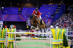 Ward McLain, USA, HH Azur<br /> Longines FEI World Cup Jumping Final III, Omaha 2017 <br /> © Hippo Foto - Dirk Caremans<br /> 02/04/2017