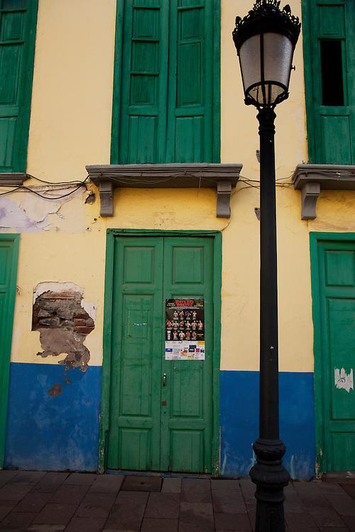 Main street, San Sebastian, La Gomera, Tenerife.