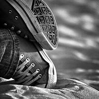 Child converse shoes
