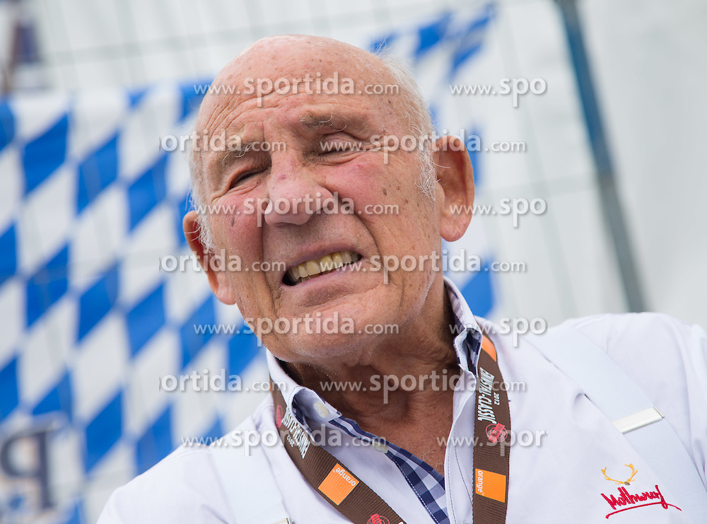 14.07.2012, Groebming, AUT, Ennstal Classic 202, Chopard Grand Prix, im Bild SIR Stirling Moss // during Chopard Grand Prix at the Ennstal Classic 2012 in Groebming, Austria on 2012/07/14. EXPA Pictures © 2012, PhotoCredit: EXPA/ J. Groder