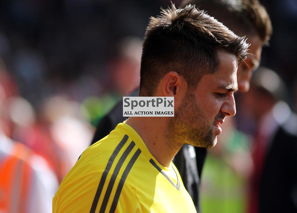 Swansea goalkeeper Lukasz Fabianski During Southampton vs Swansea on Saturday 26th September 2015.