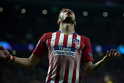 November 6, 2018 - Madrid, Spain - Saul Niguez of Atletico Madrid during the Group A match of the UEFA Champions League between AtleticoLucien Favre of Borussia Dortmund Madrid and Borussia Dortmund at Wanda Metropolitano Stadium, Madrid on November 07 of 2018. (Credit Image: © Jose Breton/NurPhoto via ZUMA Press)