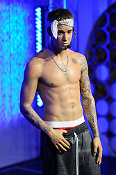 Justin Bieber's new 'wet look' wax figure is being unveiled at Madame Tussauds in London, England on October 9, 2016. Photo by Aurore Marechal/ABACAPRESS.COM