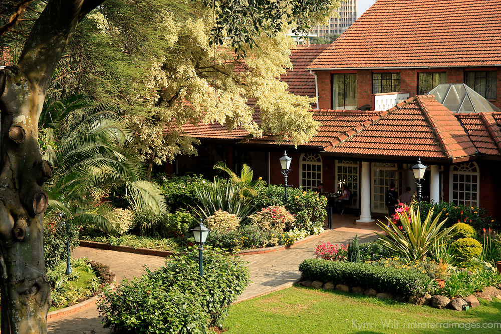 Africa, Kenya, Nairobi. The Fairmont Norfolk Hotel.